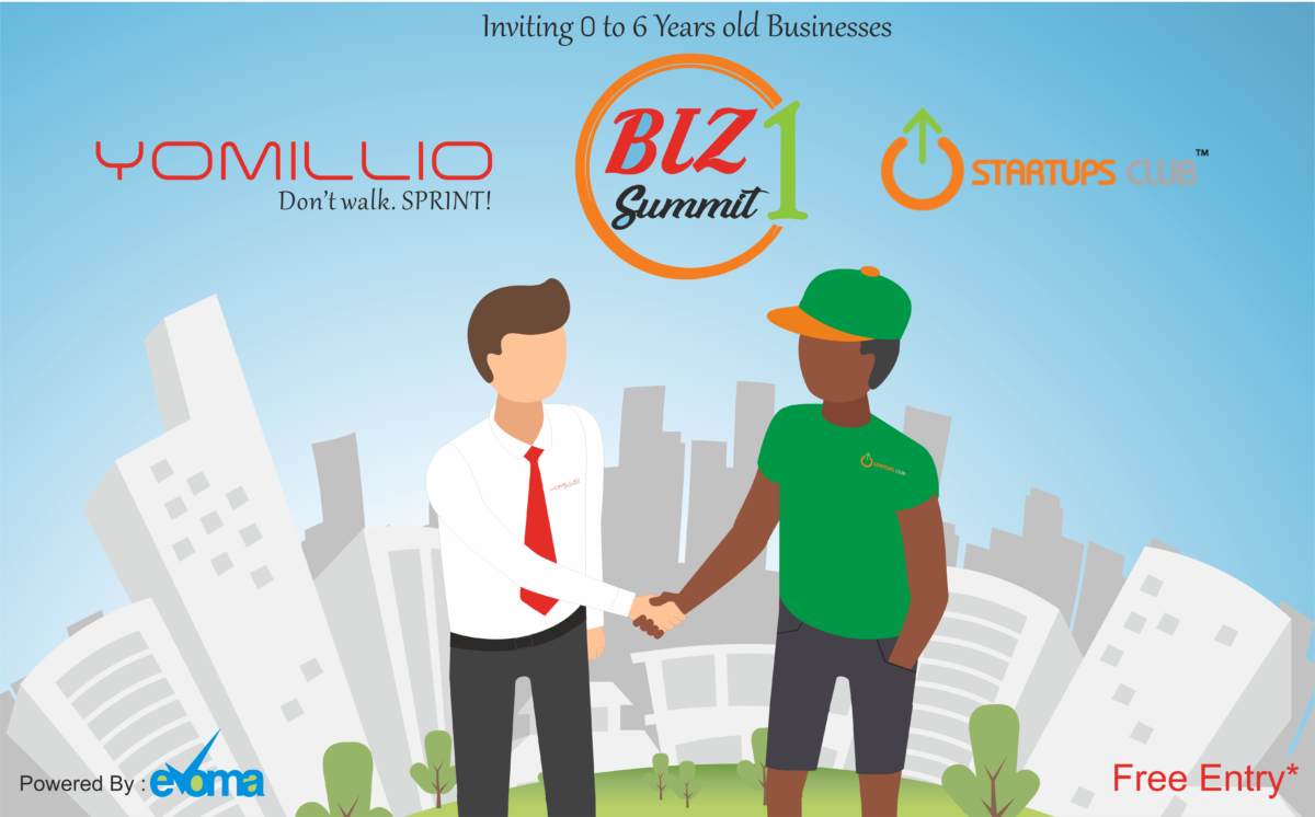 Yomillio Startups Club Biz Summit at Evoma