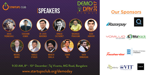 Demo Day speakers