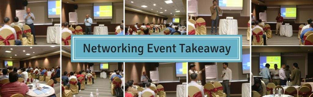 The Takeaway from a Networking Event